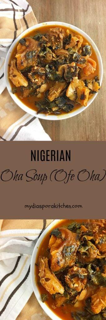 Oha Soup (Ofe Oha)