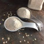 home made oat flour
