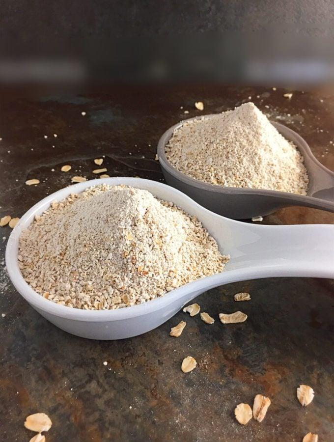 Homemade Oat Flour demystified