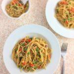 mommy's one pot creamy spaghetti recipe