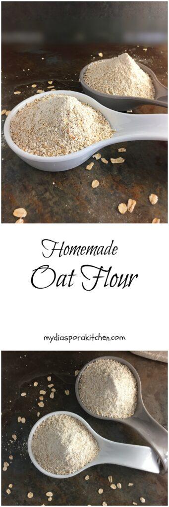 Homemade Oat Flour