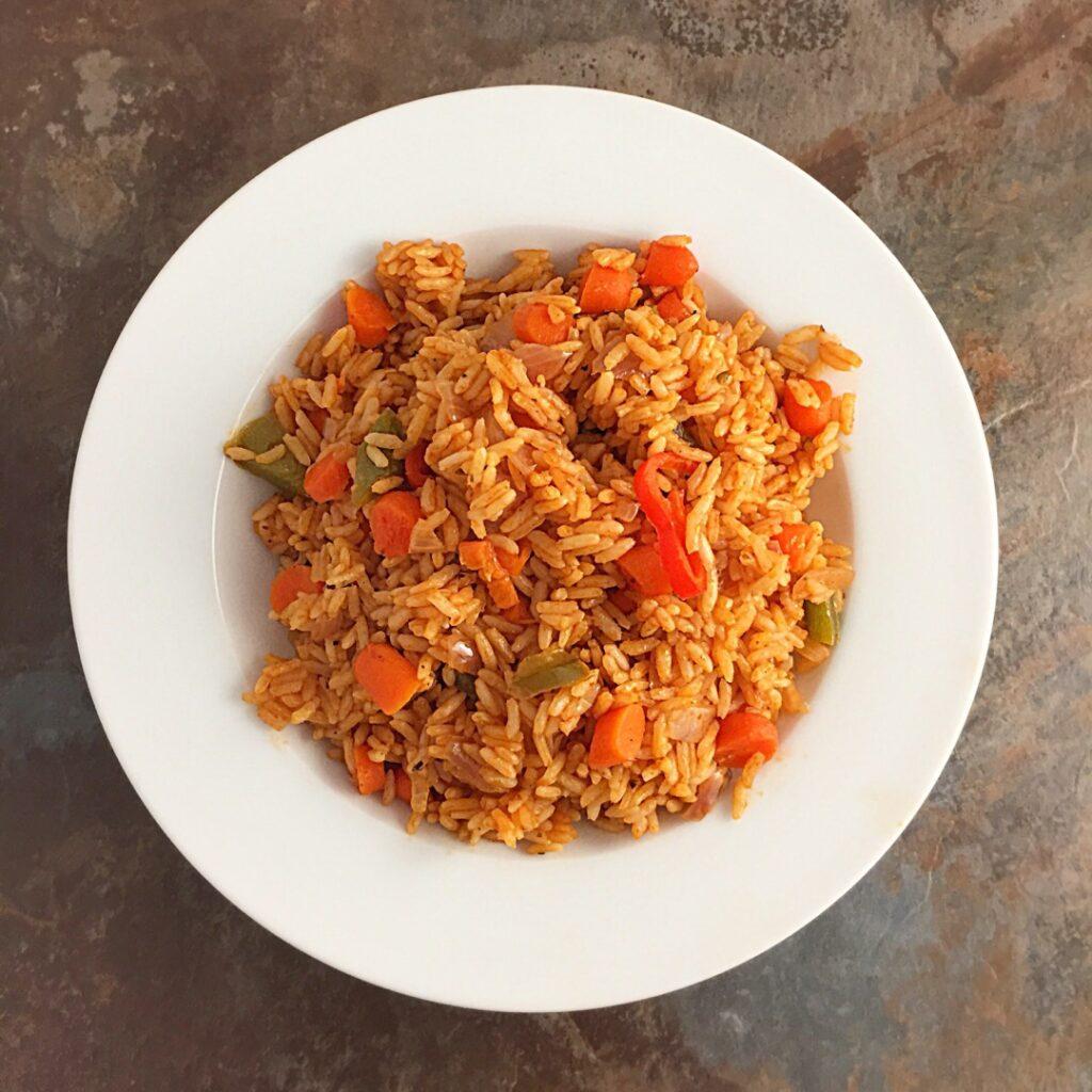 Easy Jollof rice recipe hack