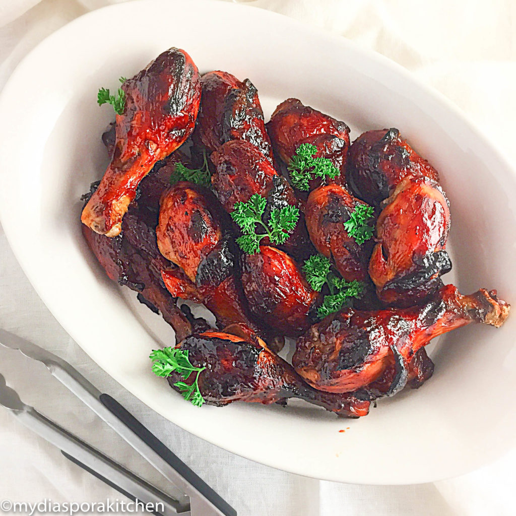 Easy Spicy barbecue chicken