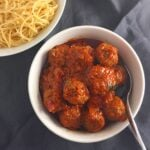 Quickest yet delicious meat ball sauce