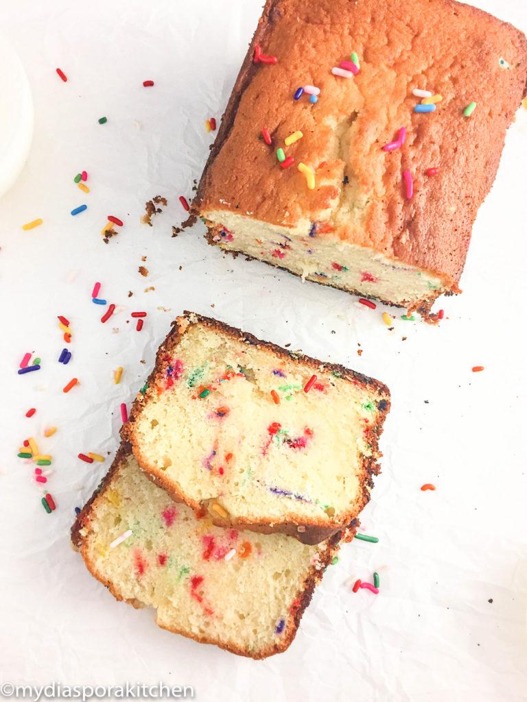 Easy funfetti cake