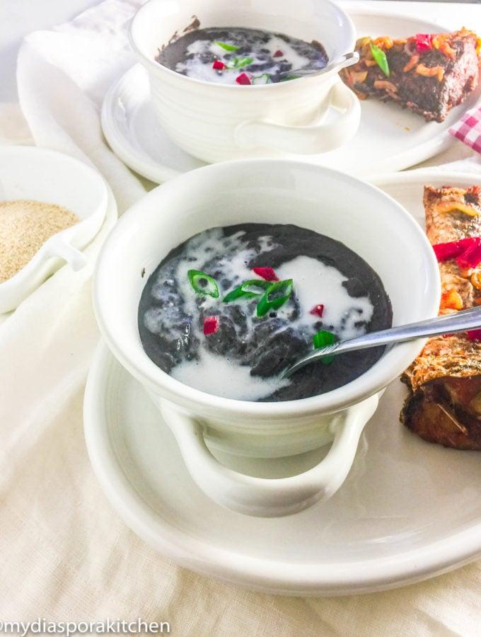Slow Cooker Black bean Soup; frejon