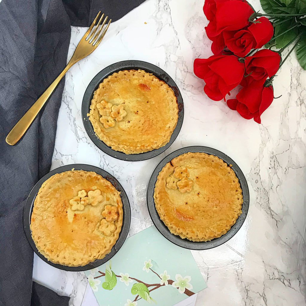 Spicy Beef Pot Pies For Mom