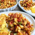 Bacon and potatoes stir-fry