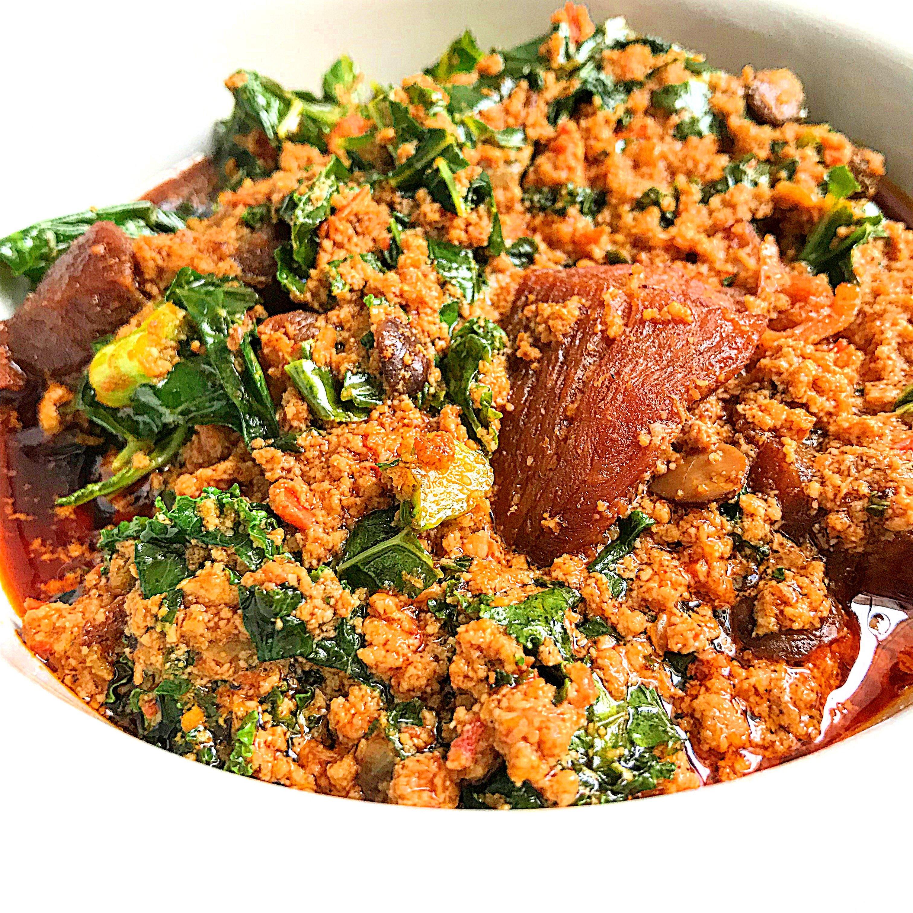 Efo Elegusi Yoruba Style Egusi Soup My Diaspora Kitchen
