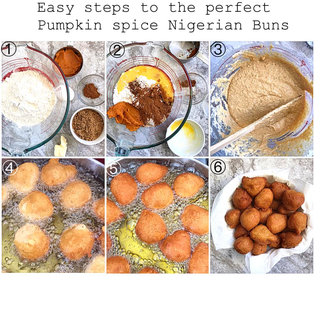 Soft Pumpkin Spice Nigerian Buns