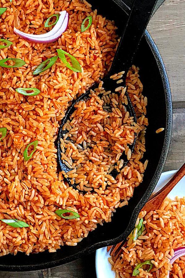 Easy Vegan Jollof Rice