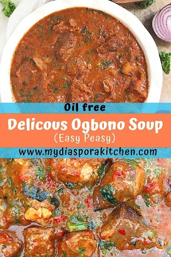 Oil free Ogbono Soup