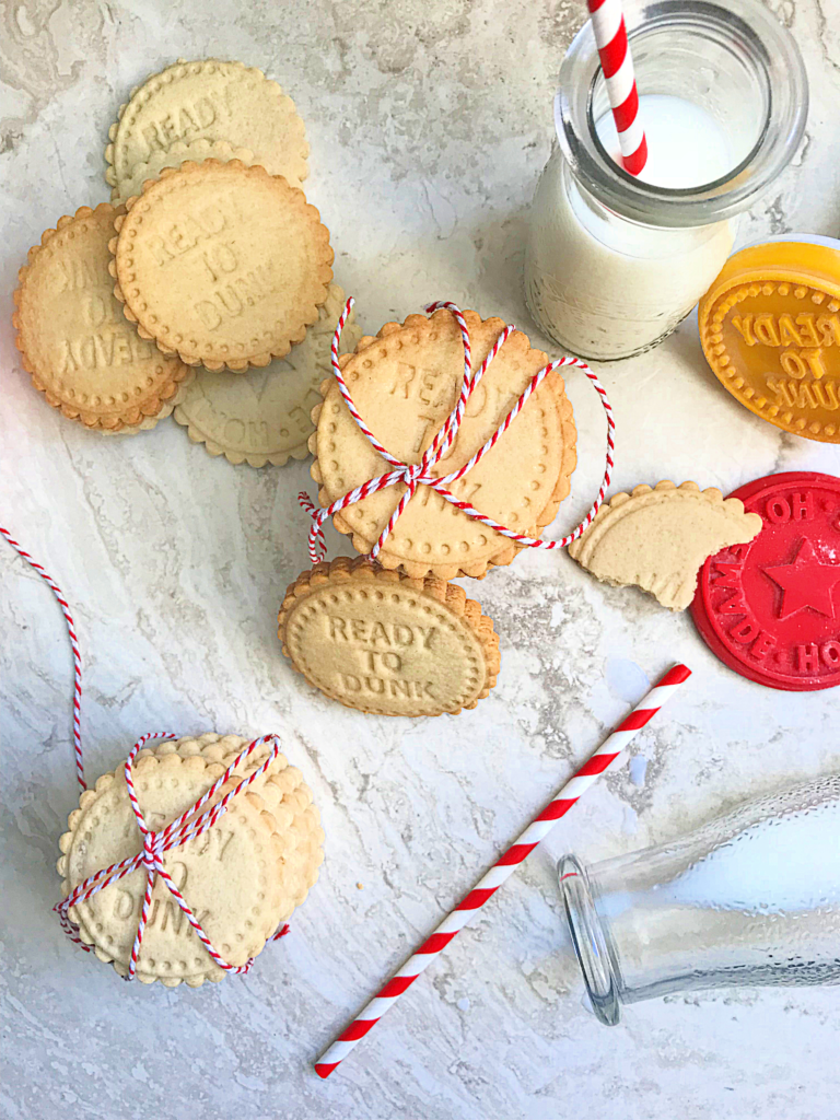 Easy Homemade Stamped Cookies