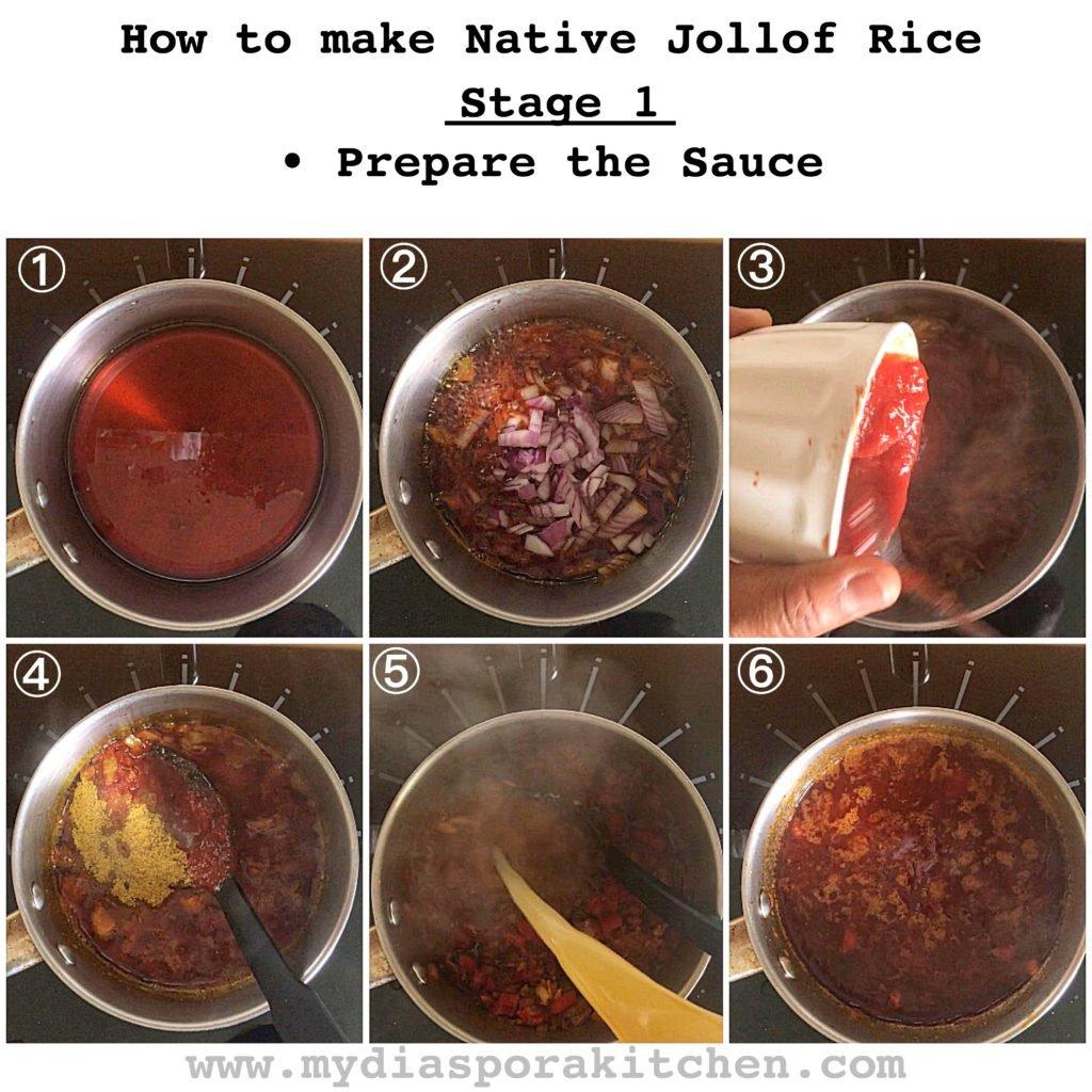 Native jollof rice