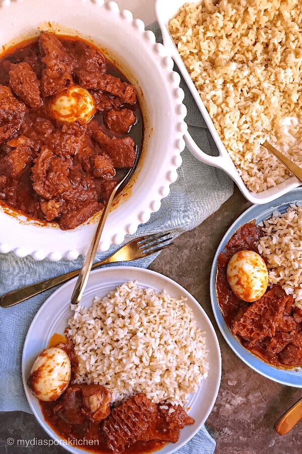 The Real Ofada Stew