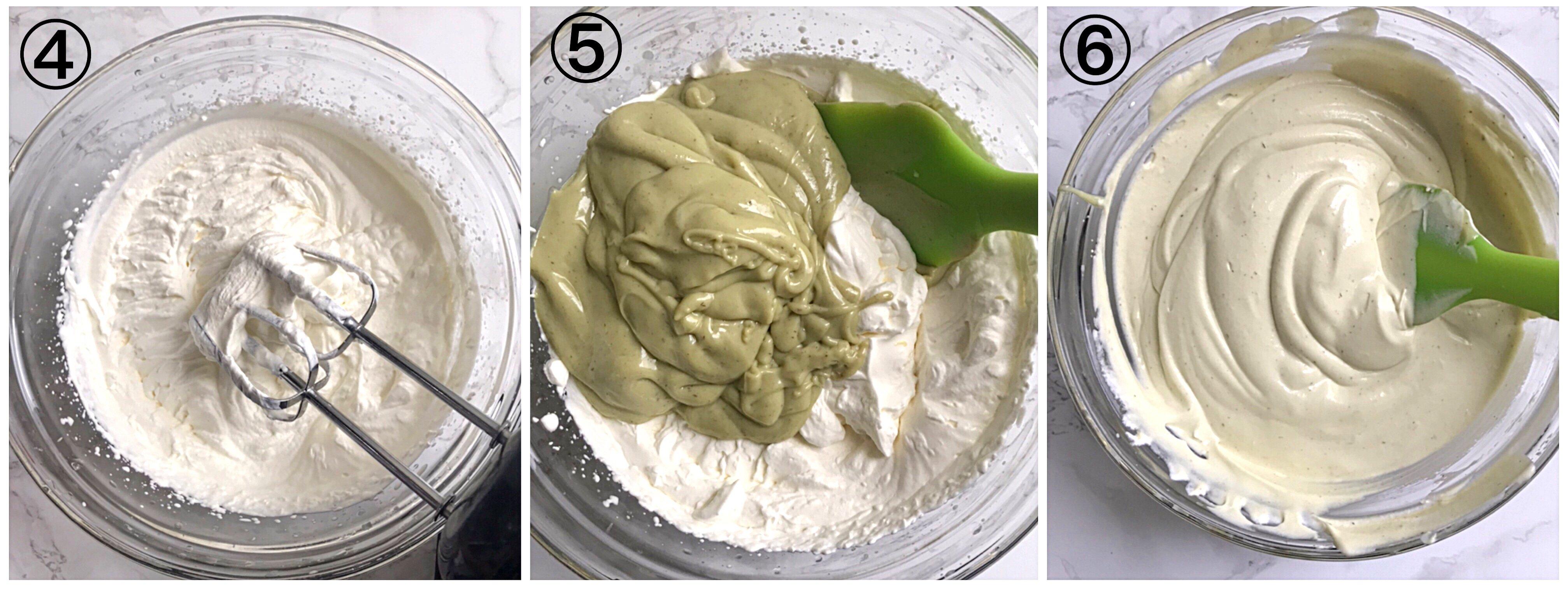 how to make avocado ice cream step by step photos