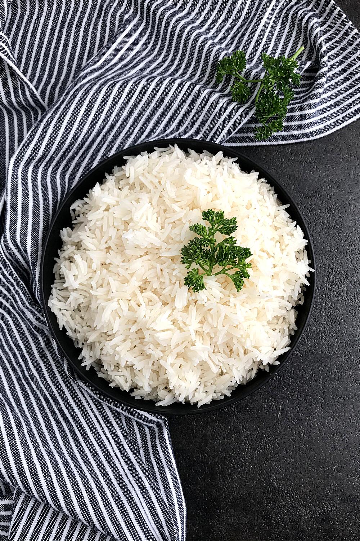 cooked basmati rice. how to cook basmati rice